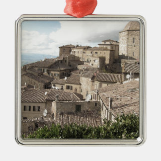 Panorama of Volterra village, province of Pisa Metal Ornament