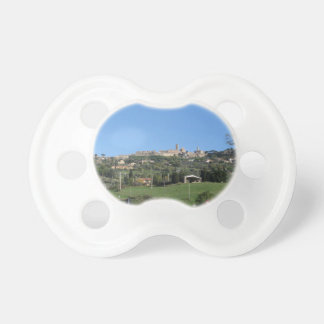 Panorama of Volterra village, province of Pisa Pacifier