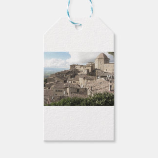 Panorama of Volterra village, province of Pisa Pack Of Gift Tags