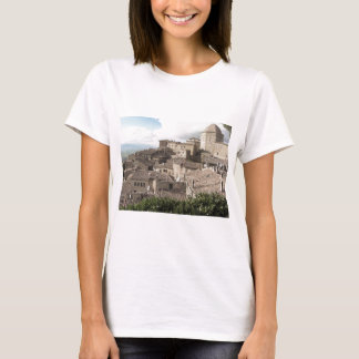 Panorama of Volterra village, province of Pisa T-Shirt