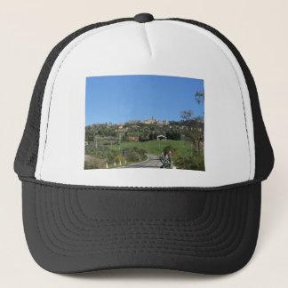 Panorama of Volterra village, province of Pisa Trucker Hat