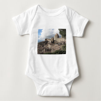 Panorama of Volterra village, Tuscany, Italy Baby Bodysuit