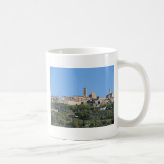 Panorama of Volterra village . Tuscany, Italy Coffee Mug