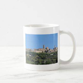 Panorama of Volterra village, Tuscany, Italy Coffee Mug