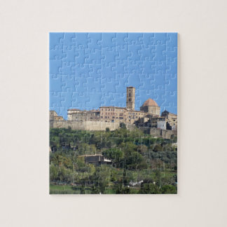 Panorama of Volterra village, Tuscany, Italy Jigsaw Puzzle