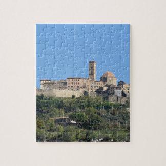 Panorama of Volterra village . Tuscany, Italy Jigsaw Puzzle
