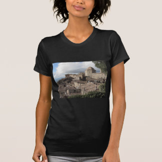 Panorama of Volterra village, Tuscany, Italy T-Shirt