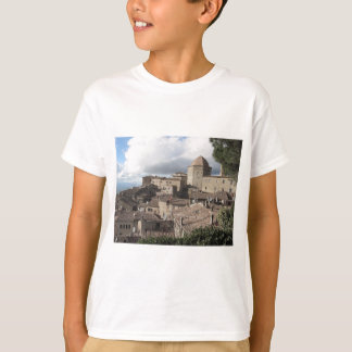 Panorama of Volterra village, Tuscany, Italy T-Shirt