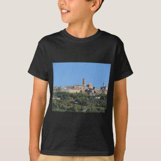 Panorama of Volterra village . Tuscany, Italy T-Shirt
