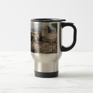Panorama of Volterra village, Tuscany, Italy Travel Mug