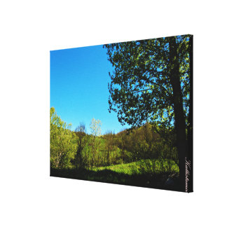 Panoramas - Molise - Italy Canvas Print