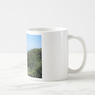 Panoramic aerial view of Livorno city Coffee Mug