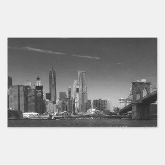 Panoramic Black White Brooklyn