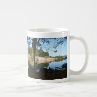 Panoramic City Walls & Row-Boats Coffee Mug