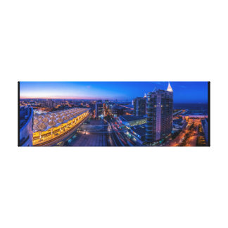 Panoramic Lisbon Canvas Print