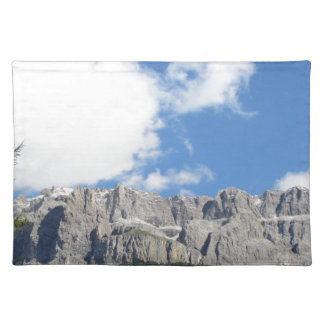 Panoramic mountain view of the Dolomites Placemat