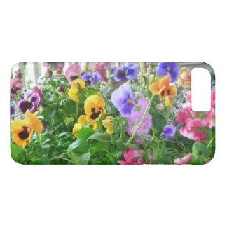 Panoramic Pansies iPhone 8 Plus/7 Plus Case