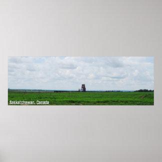 Panoramic Prairies Poster
