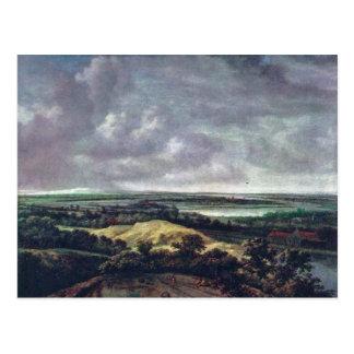 Panoramic River Landscape., Nederlands, Postcard