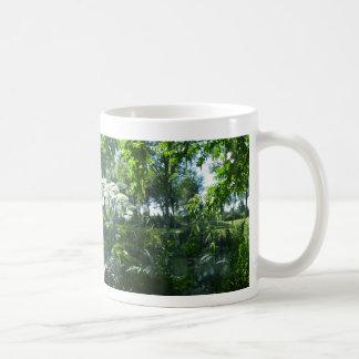 Panoramic Sunny Park Coffee Mug