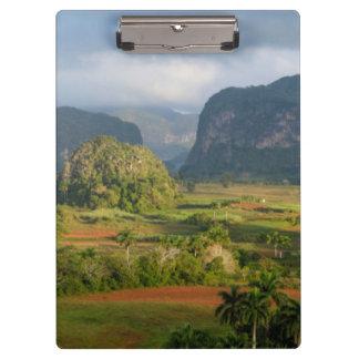Panoramic valley landscape, Cuba Clipboard