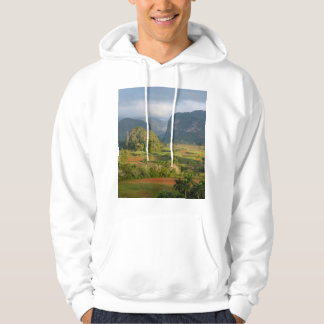 Panoramic valley landscape, Cuba Hoodie