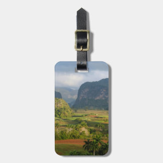 Panoramic valley landscape, Cuba Luggage Tag