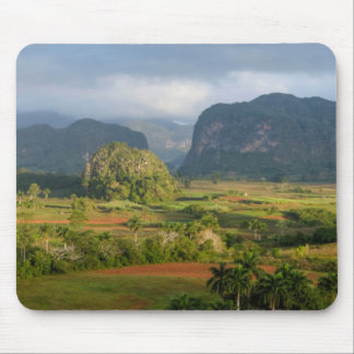 Panoramic valley landscape, Cuba Mouse Pad
