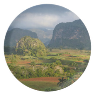 Panoramic valley landscape, Cuba Plates