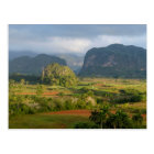 Panoramic valley landscape, Cuba Postcard