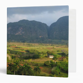 Panoramic valley landscape, Cuba Vinyl Binders