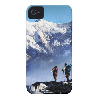 Panoramic View Of Ama Dablam Peak Everest Mountain Case-Mate iPhone 4 Case