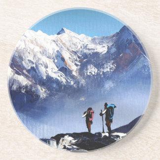 Panoramic View Of Ama Dablam Peak Everest Mountain Coaster