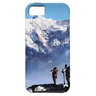 Panoramic View Of Ama Dablam Peak Everest Mountain iPhone 5 Cover