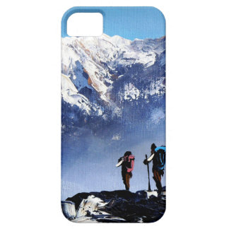 Panoramic View Of Ama Dablam Peak Everest Mountain iPhone 5 Cover