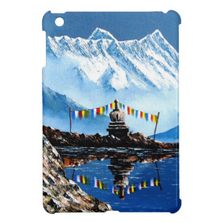 Panoramic View Of Annapurna Mountain Nepal iPad Mini Cases