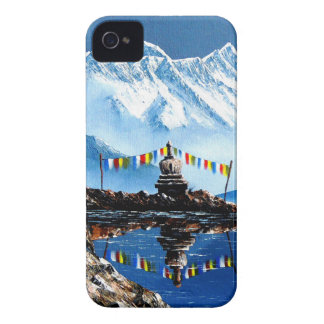 Panoramic View Of Annapurna Mountain Nepal iPhone 4 Cover