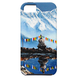 Panoramic View Of Annapurna Mountain Nepal iPhone 5 Cases