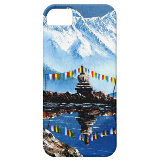 Panoramic View Of Annapurna Mountain Nepal iPhone 5 Cover