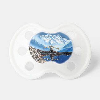 Panoramic View Of Annapurna Mountain Nepal Pacifier
