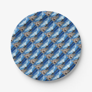 Panoramic View Of Annapurna Mountain Nepal Paper Plate