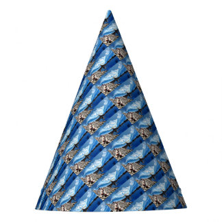 Panoramic View Of Annapurna Mountain Nepal Party Hat