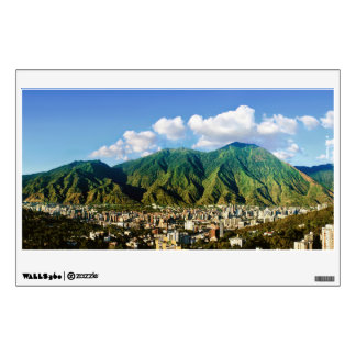 Panoramic view of Avila, Caracas, Venezuela Wall Decal