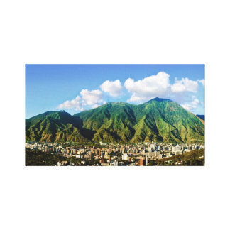 Panoramic view of Avila, Caracas, Vzla Canvas Print