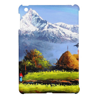 Panoramic View Of Beautiful Everest Mountain Case For The iPad Mini