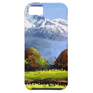 Panoramic View Of Beautiful Everest Mountain Case For The iPhone 5