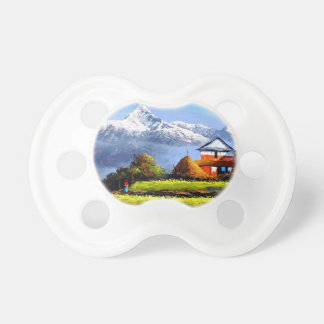 Panoramic View Of Beautiful Everest Mountain Pacifier