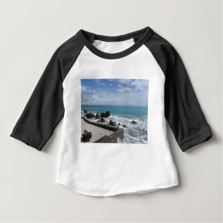 Panoramic view of Castiglioncello coast in Tuscany Baby T-Shirt