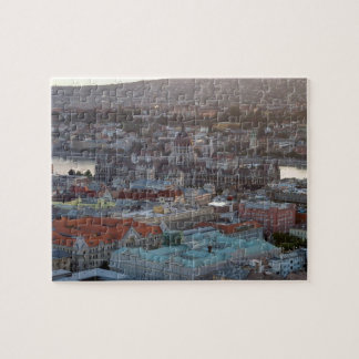 Panoramic view of downtown Budapest Jigsaw Puzzle