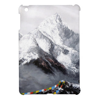 Panoramic View Of Everest Mountain Cover For The iPad Mini